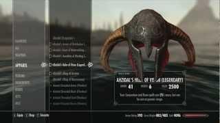 Skyrim: Dragonborn- Ahzidal's Armor