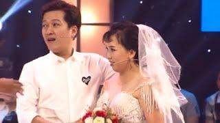 image Trường Giang, Trấn Thành nhiệt tình ôm cô dâu thí sinh | THÁCH THỨC DANH HÀI 5 | TTDH #8 | 5/12/2018