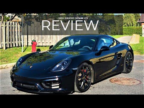 2016 Porsche Cayman GTS -- Hands on review!