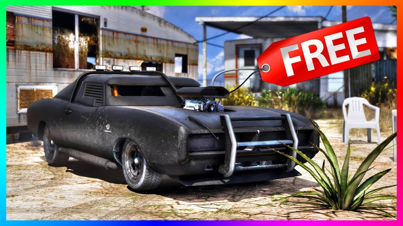 best car for free gta online