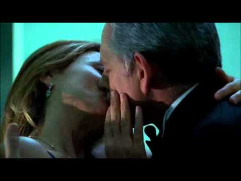 Jack and Irina kiss on Alias Victor Garber Lena Olin