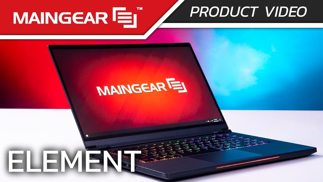 MAINGEAR Element | Ultimate Thin & Light Gaming Laptop