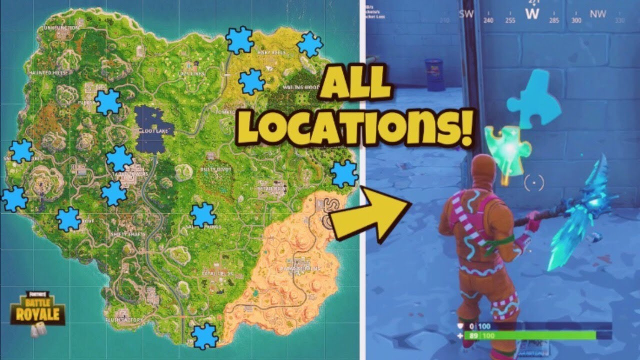 Search Jigsaw Puzzle Pieces In Basements All Locations Fortnite - search jigsaw puzzle pieces in basements all locations fortnite battle royale jigsaw pieces