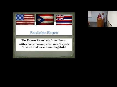 EDD Talk, January 24, 2018, Paulette Reyes