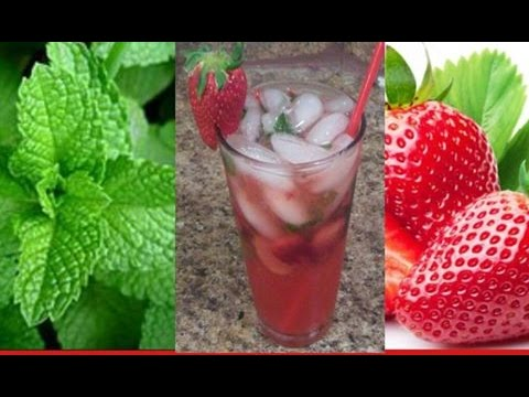 How to Make a Strawberry MOJITO Cocktail..