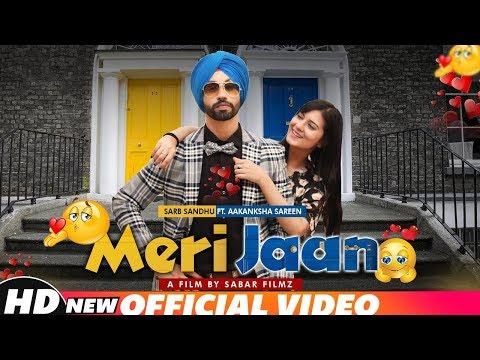 Meri Jaan (Full Video) | Sarb Sandhu Ft Aakansha Sareen | Latest Punjabi Songs 2018 | Speed Records