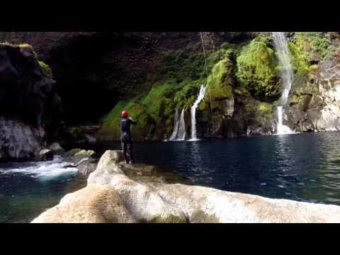 Canyoning(Neltume-Huilo Huilo)