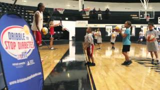 Dribble To Stop Diabetes 2012 : Tulsa Shock