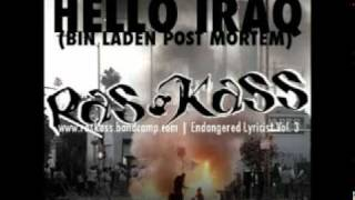 Ras Kass - Hello Iraq (Bin Laden Post Mortem) + Download Link
