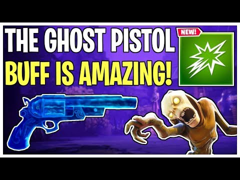 The Ghost Pistol Buff Is AMAZING! Ghost Pistol Weapon Re-Review | Fortnite Save The World