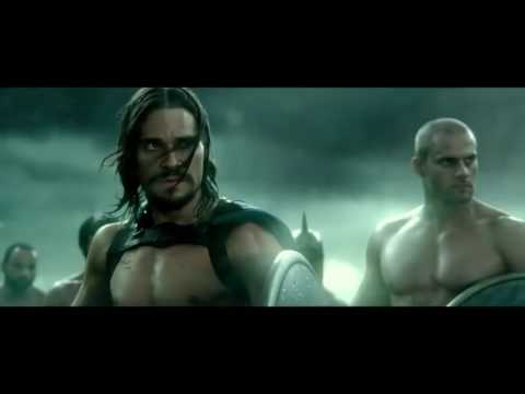300 Rise of an empire second battle part...