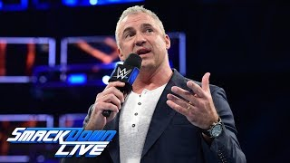 Shane McMahon drops a Survivor Series bombshell: SmackDown LIVE, Oct. 31, 2017