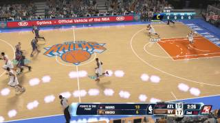 NBA 2k14 My Career Part 7 Scrimmage Loss In OT To NY Walkthough Lets Play