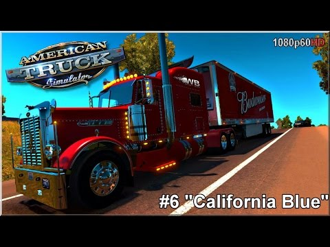 "American Truck Simulator - #6 ""California Blue"""