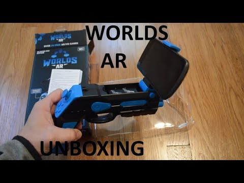 Unboxing Worlds AR Blaster Pro Edition Augmented Reality Gaming Controller
