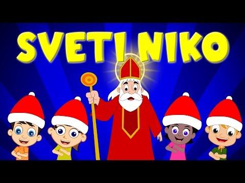 Sveti Niko Svijetom šeta | Dječje Pjesme