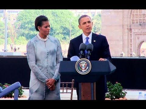 President Obama Honors Victims of Mumbai Terror Attack