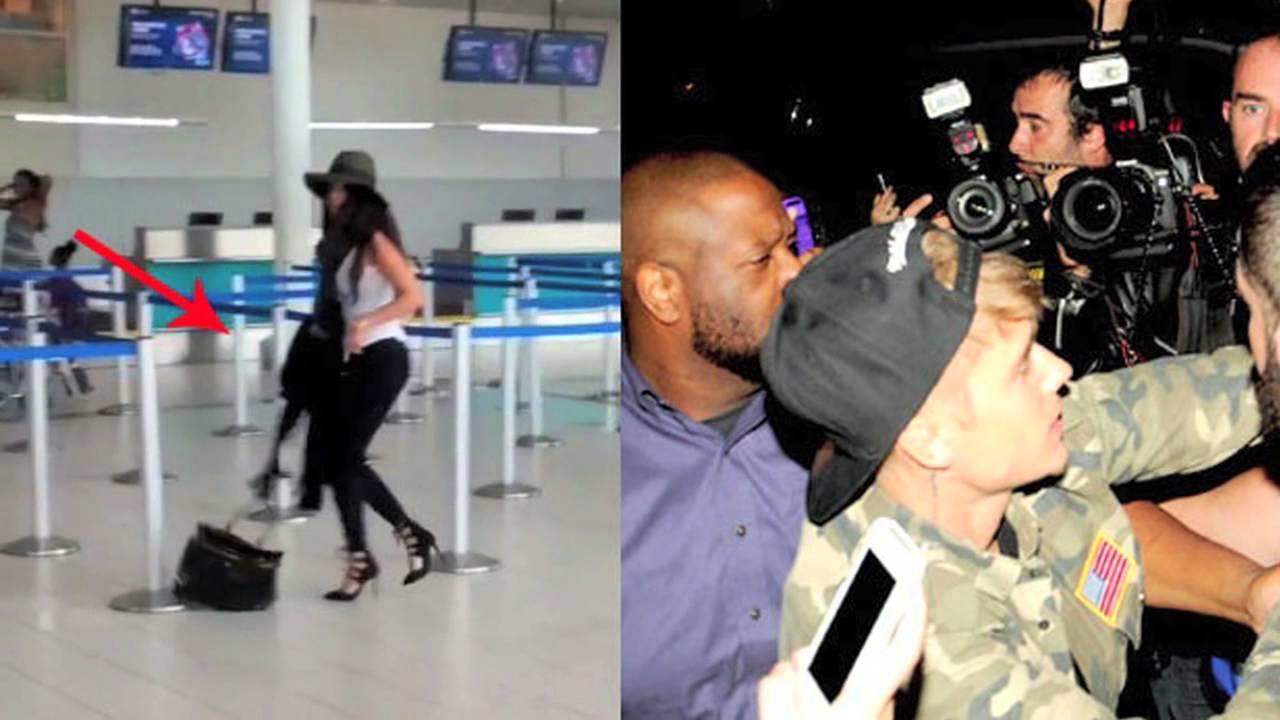 Selena Gomez And Justin Bieber Massive Fight At Airport ...
