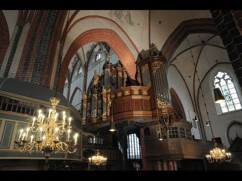 Arp-Schnitger-Orgel Norden Registervorstellung - presentation of stops by Thiemo Janssen