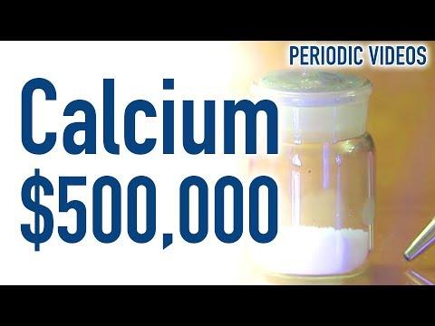 $500,000 of Calcium - Periodic Table of Videos