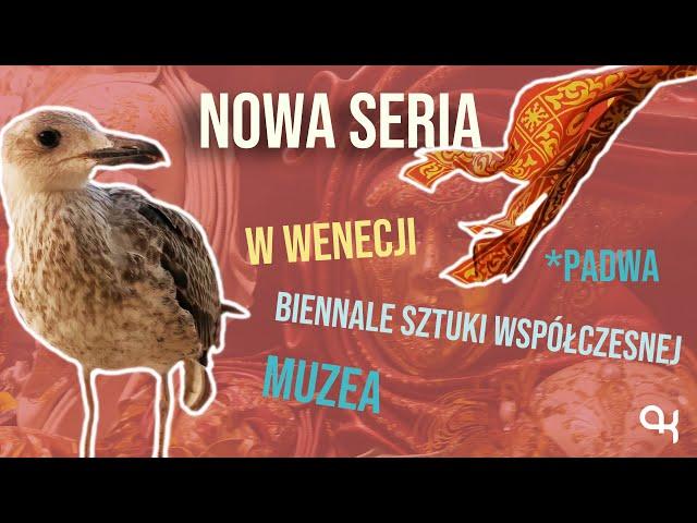 NOWA SERIA | zapowiedź | Wenecja - biennale | KISIELOG