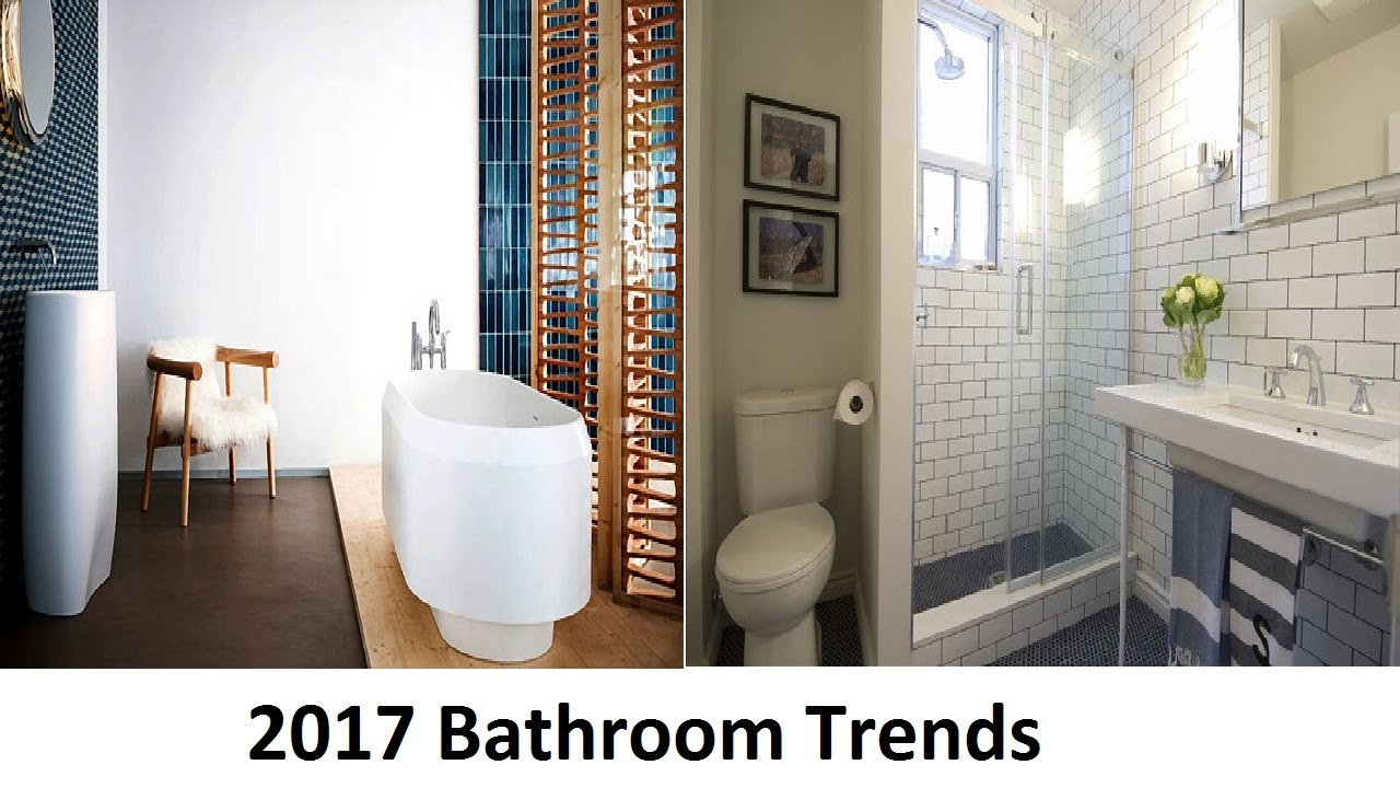 2017 bathroom trends that you should to see - youtube