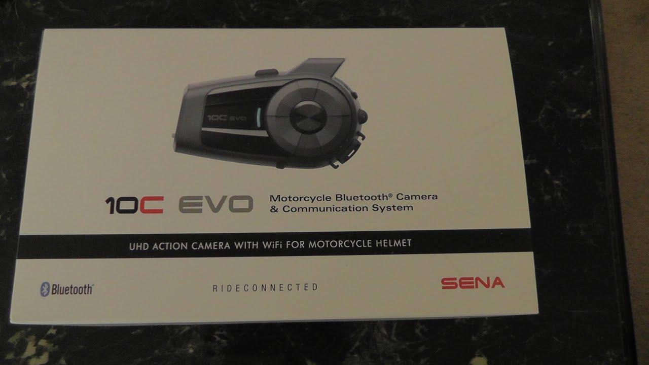 Sena 10C EVO Review in 4K