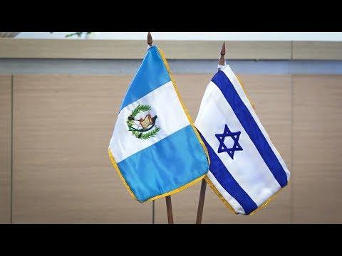 #InformeNacional   Traslado De Embajada Sella Mejor Momento De Relaciones Guatemala-Israel