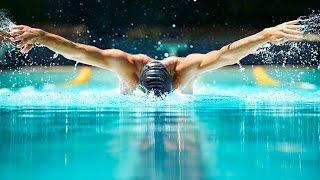 Техника плавания баттерфляем и дельфином