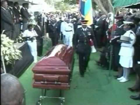 Bahamas State Funeral for Sir Clifford Darling Part 5