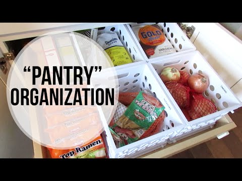 "Kitchen ""Pantry"" Organization | Bulk Dry Goods"