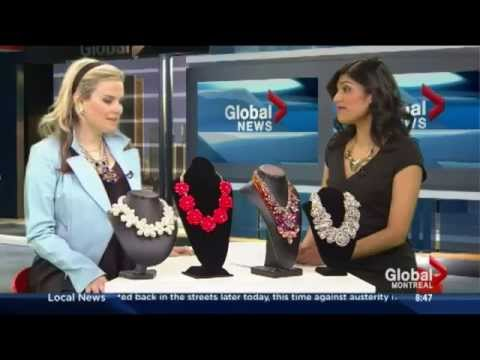 How to wear Statement Necklaces on Global Montreal