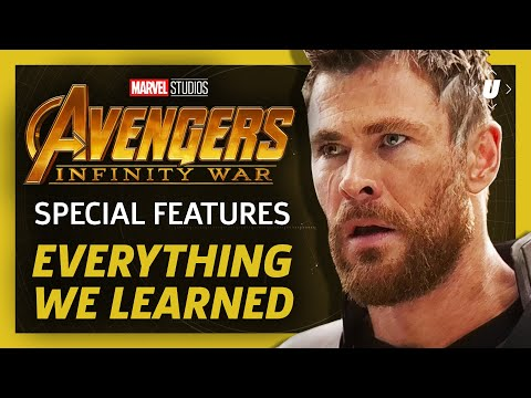 Everything We Learned From Avengers: Infinity Wars Special Features