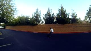 Brennan S Longboard Slide GoPro Hero 3 Black Edition