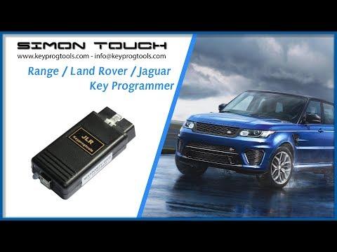 Range, Land Rover, EVoque, Velar, Jaguar NEW 2018 + JLR Doctor key programming