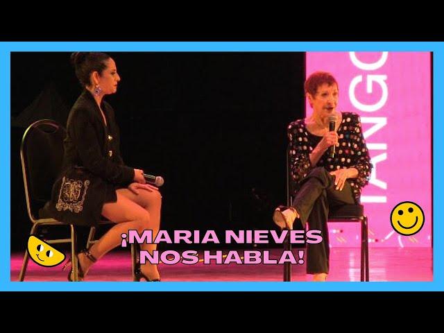 HISTÓRICA Maria Nieves contesta a Silvia Toscano, Mundial de tango 2021