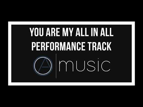 You are My All in All - Backing Track, Performance Track, Karaoke - Okantan Ayeh