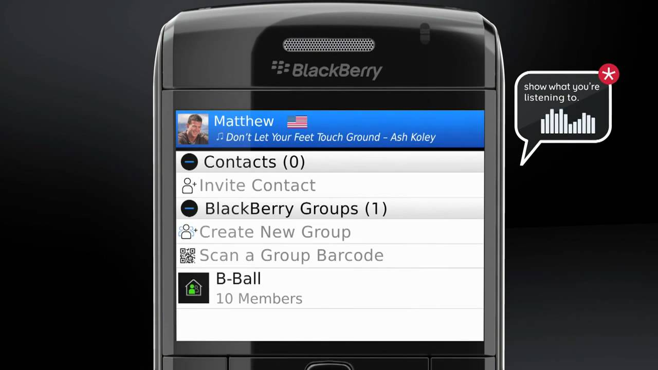 Dating blackberry messenger