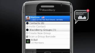 Introducing BlackBerry Messenger