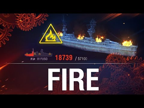 How it Works: On Fire | World of Warships
