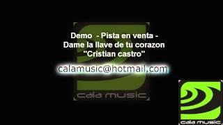Dame la llave de tu corazon - Crisian castro - Karaoke - Pista instrumental - calamusic studio