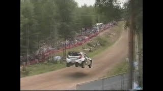 WRC Rally Finland 2011 SS19 Urria Jump