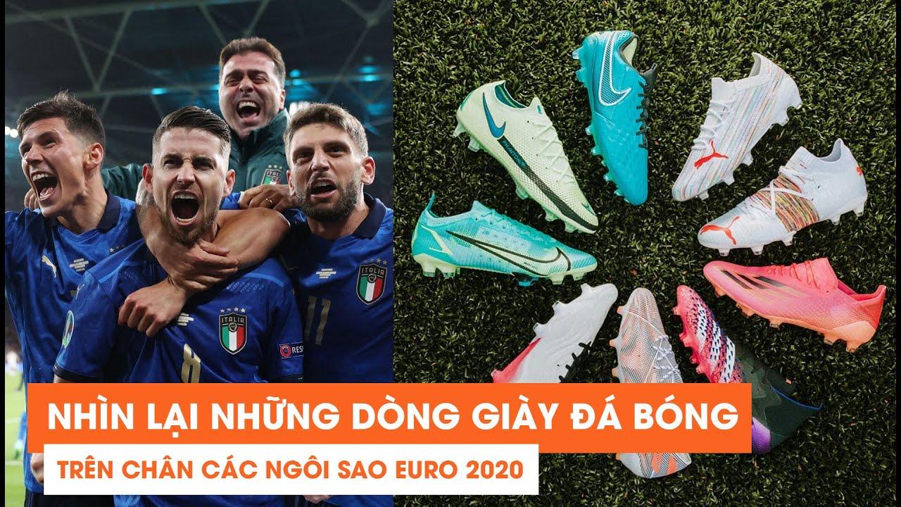 #71  NHÌN LẠI NHỮNG DÒNG GIÀY ĐÁ BÓNG TRÊN CHÂN CÁC NGÔI SAO EURO 2020