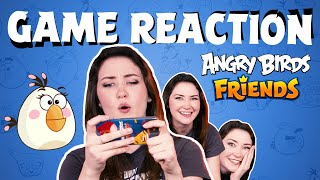Angry Birds Game Reaction | Anastasia vs. Angry Birds Friends