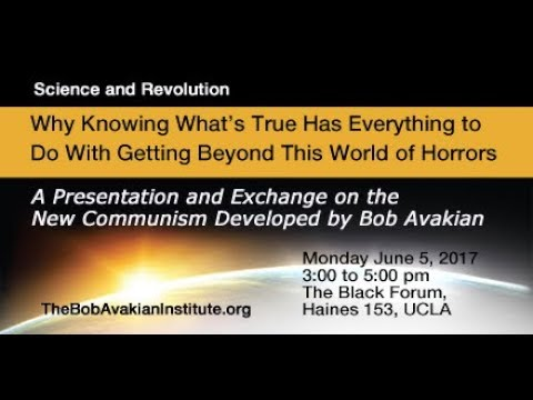 Science & Revolution: A presentation & exchange on The New Communism