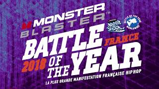 Présentation Bgirl SYA - Monster Blaster Battle Of The Year France 2018