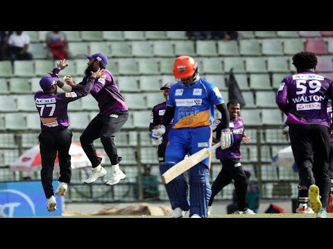 All Wickets | Chattogram Challengers Vs Khulna Tigers | 33rd Match |Season 7|Bangabandhu BPL 2019-20