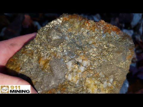 Very High Grade Gold, Platinum, Palladium & Silver Deposit In Outcrops!