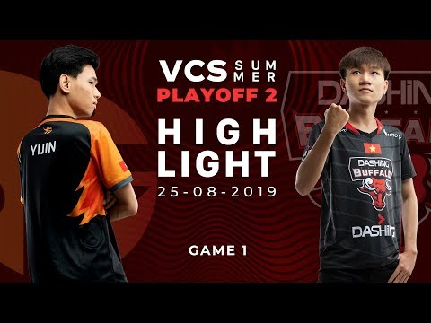 FL vs DBL HighLights [VCS Mùa Hè 2019][Playoff 2][25.08.2019][Ván 1]