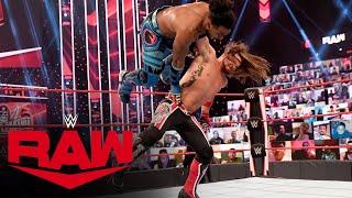 Xavier Woods vs. AJ Styles: Raw, Apr. 5, 2021